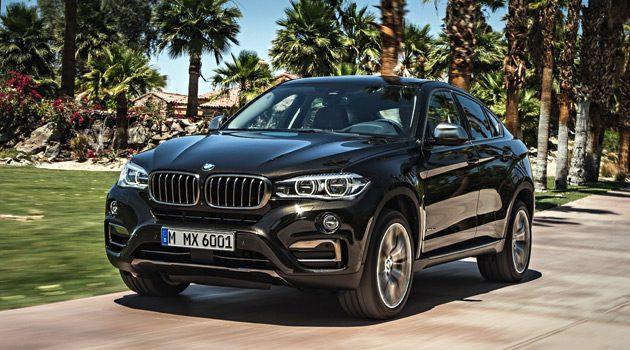 BMW Unveils The Second-Generation X6