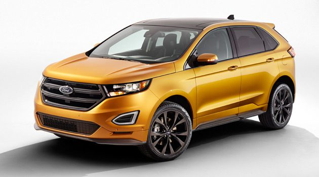 Ford Unveils The All-New 2015 Ford Edge