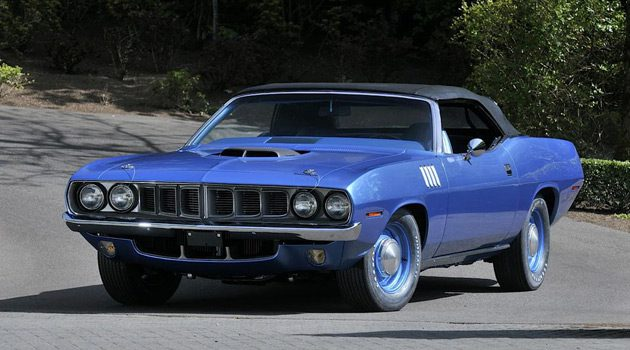 This 1971 Plymouth Hemi Cuda Convertible Just Sold For $3.5 Million