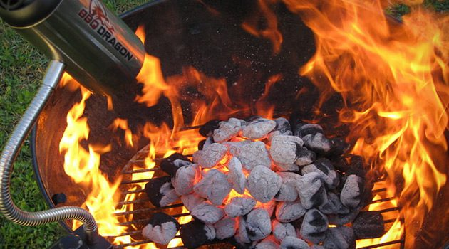 If Dad Likes To Grill With Charcoal, Get Him The BBQ Dragon