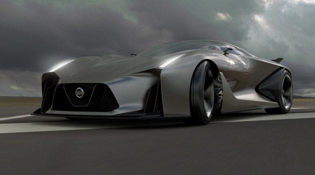 NISSAN CONCEPT 2020 Vision Gran Turismo Hints At The Future