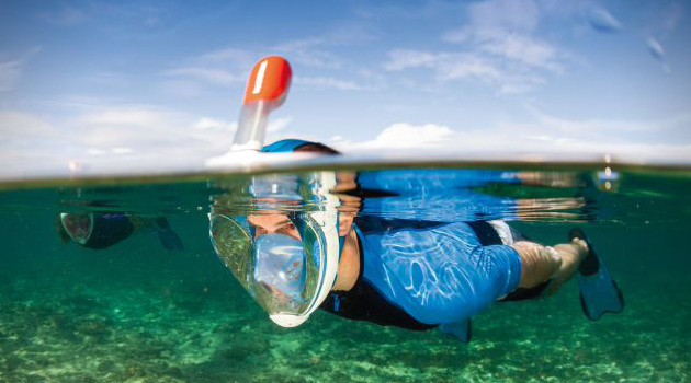 Tribord Creates A Better Snorkel With The Easybreath Snorkel Mask