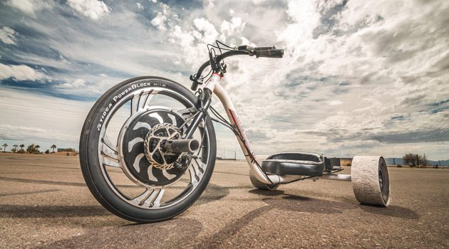 Relive Your Youth With The Verrado Electric Drift Trike!