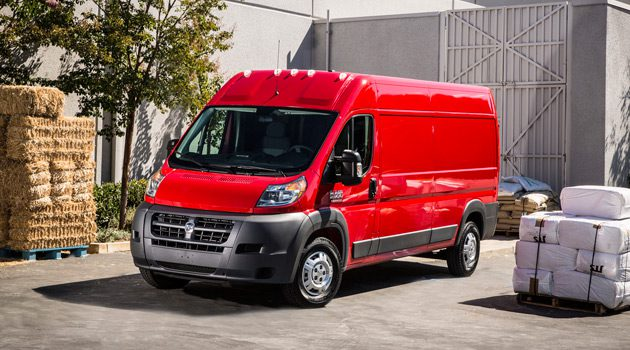 The 2014 Ram 1500 ProMaster Cargo Is A Big, Bad Moving Machine