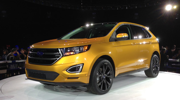 2015 Ford Edge Reveal
