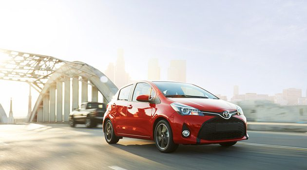 First Look At The 2015 Toyota Yaris