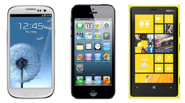 Android vs iPhone vs Windows Phone