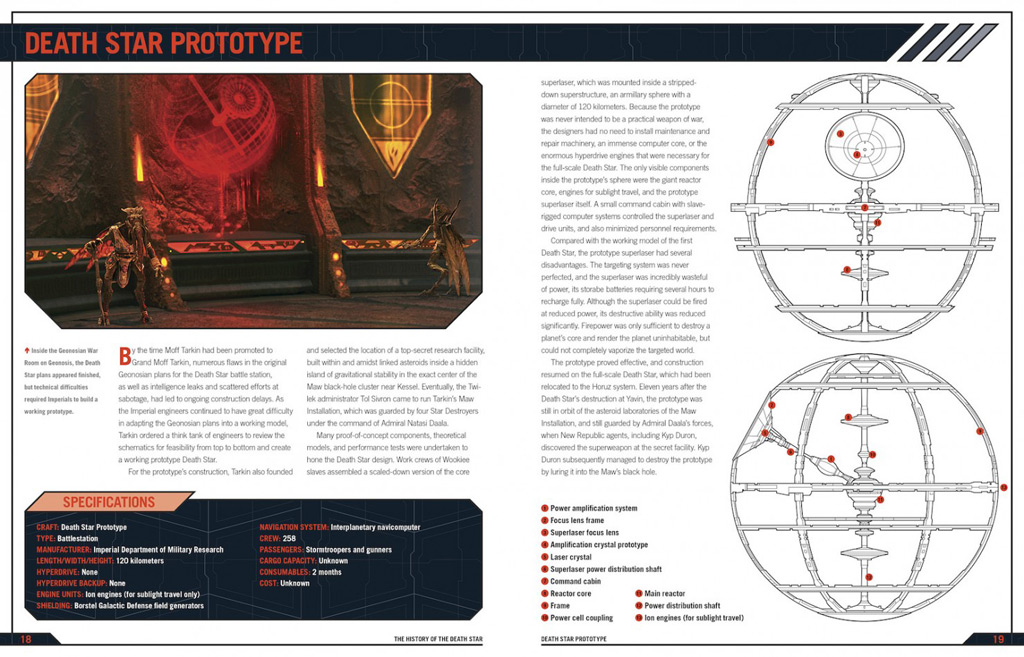 Death Star Owners Manual