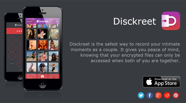 'Disckreet' App Makes Sure That Your Sex Tape Doesn't Get Leaked