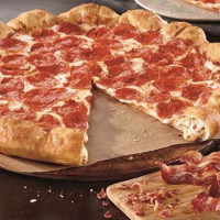 Pizza Hut Launches Bacon & Cheese Stuffed Crust Pizza