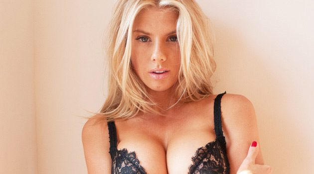 Charlotte McKinney Shoots With Terry Richardson