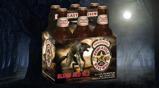 Newcastle Werewolf Blood-Red Ale Will Haunt Bars And Liquor Stores This Fall