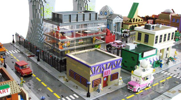 LEGO Springfield Brings 'Simpsons' Hometown To Life