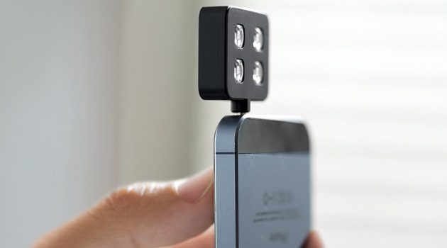 The iblazr Is A Portable Flash For Your Smartphone or Tablet