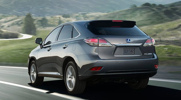 2015 Lexus RX 450h Is High-End Hybrid Luxury