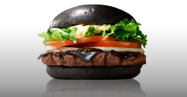 Burger King Kuro Diamond Burger