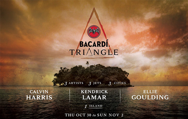 Bacardi Triangle - Poster