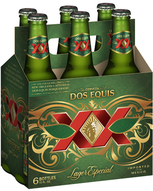 Dos Equis Lager - 6 pack