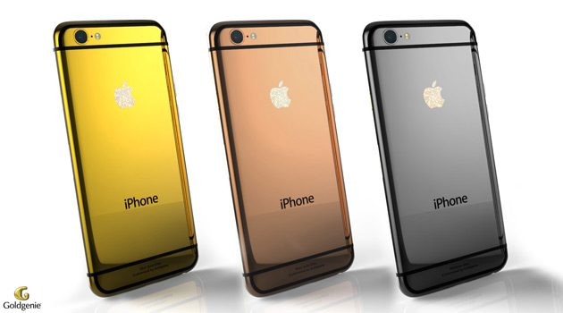 Goldgenie Launches 24ct Gold iPhone 6 Elite Collection