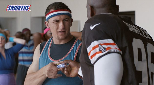 Hunger Turns Johnny Football Into Johnny JamBoogie In New Snickers Ad
