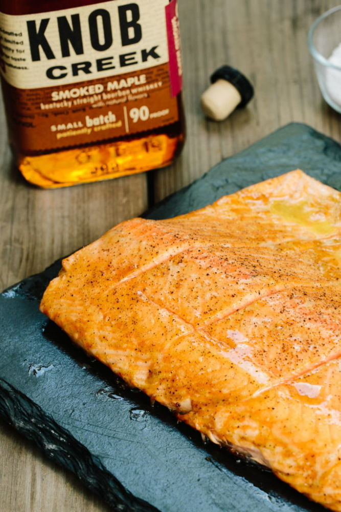 Knob Creek Grilled Salmon