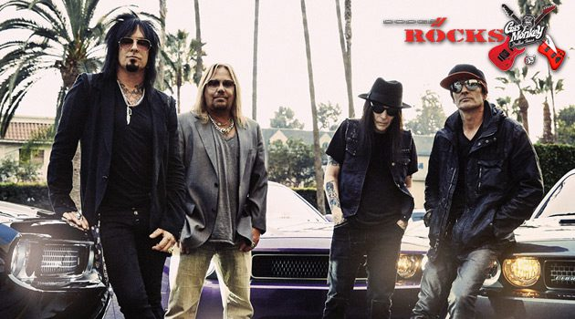 Mötley Crüe To Perform At Dodge Rocks Gas Monkey Event In Dallas