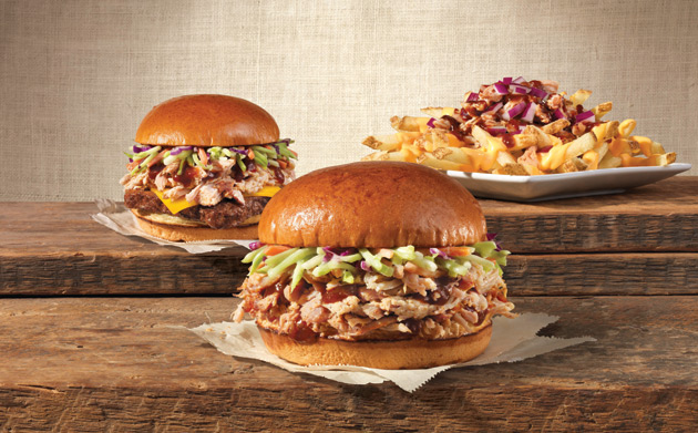 Wendy's BBQ Pulled Pork Offerings