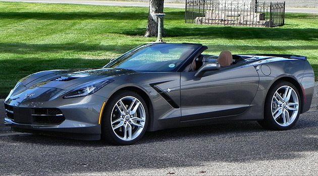 2015 Corvette Stingray Convertible Melds Performance and Nostalgia Beautifully