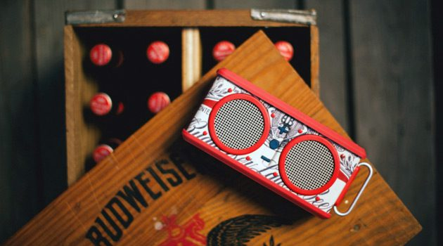 Skullcandy Collaborated With Budweiser On Limited Edition Air Raid Speaker
