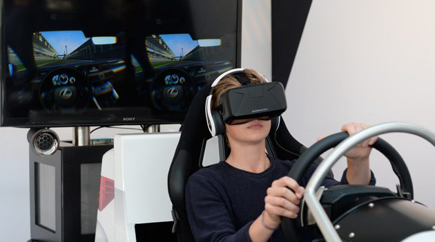 Take The Lexus RC F For A Virtual Test Drive With Oculus Rift