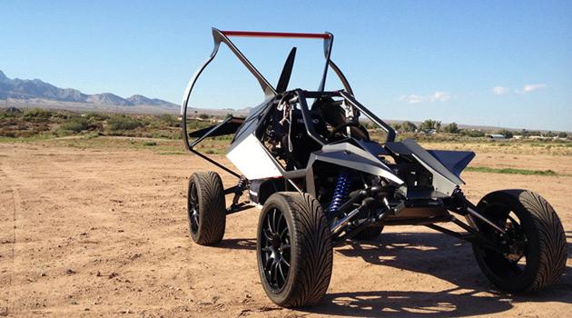 The SkyRunner Is Part All-Terrain Vehicle, Part Light ...