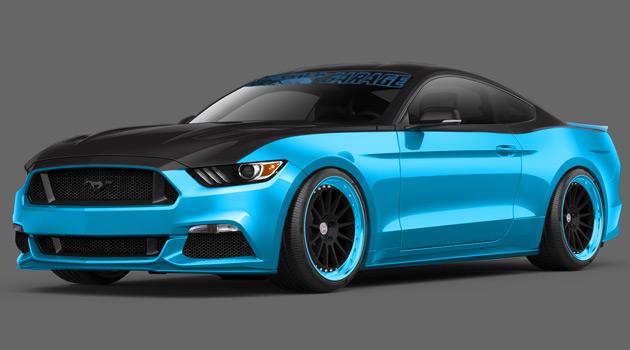 Petty's Garage 2015 Mustang - SEMA