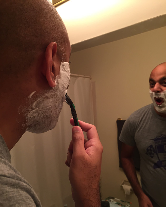 Schick Xtreme3 - Shaving #Indisposable