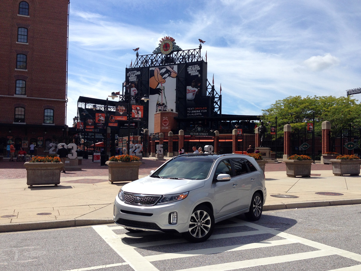2015 Kia Sorento Tour - Camden Yards
