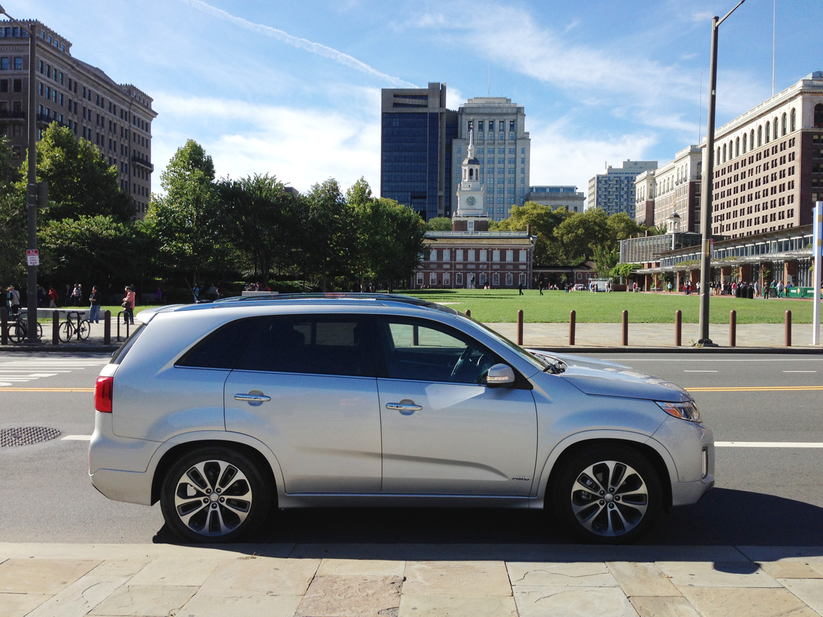 2015 Kia Sorento Tour - Independence Hall