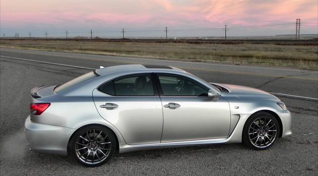 2014 Lexus ISF 3