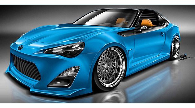 Turbocharged Targa Top Scion FR-S Will Be Debuting At SEMA Show