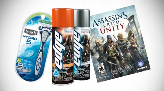 Edge Shave Gel and Assassin's Creed Team Up To Give Gamers The Ultimate Advantage