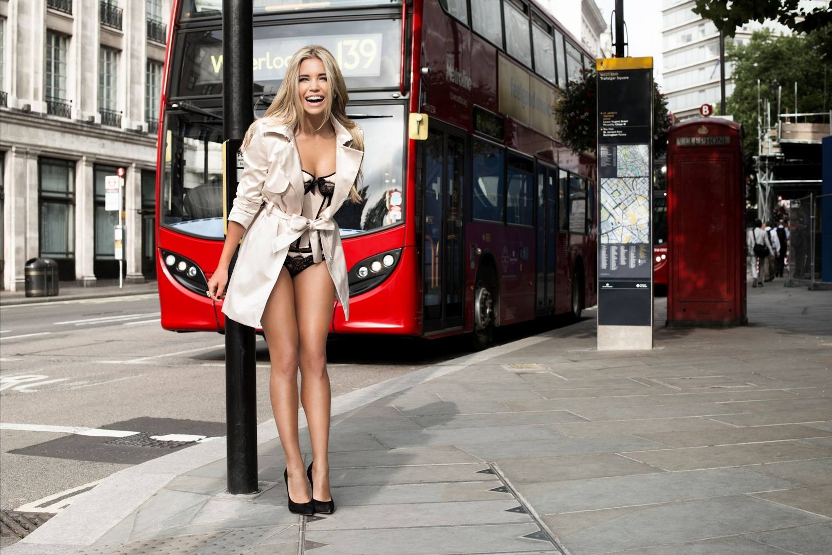 Watch as sylvie struts her stuff all over london and try not to drool