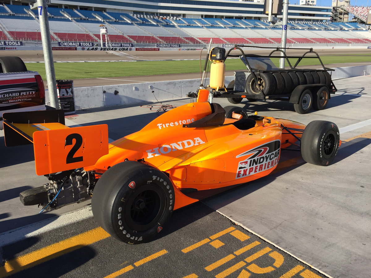 Review Indycar Experience At Las Vegas Motor Speedway
