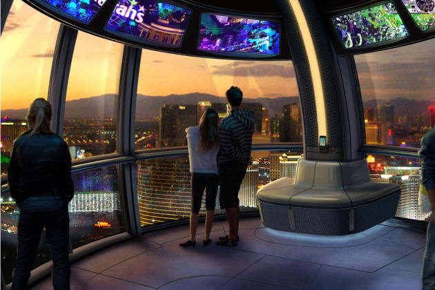 The LINQ - High Roller interior