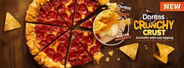 Pizza Hut Doritos Crunchy Crust