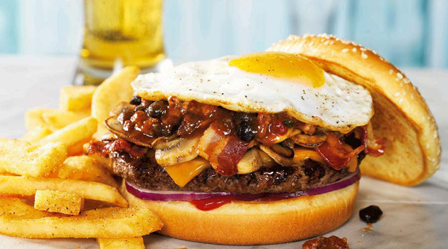Red Robin Serves Up 'The Cure Burger' For Holiday Hangover Relief
