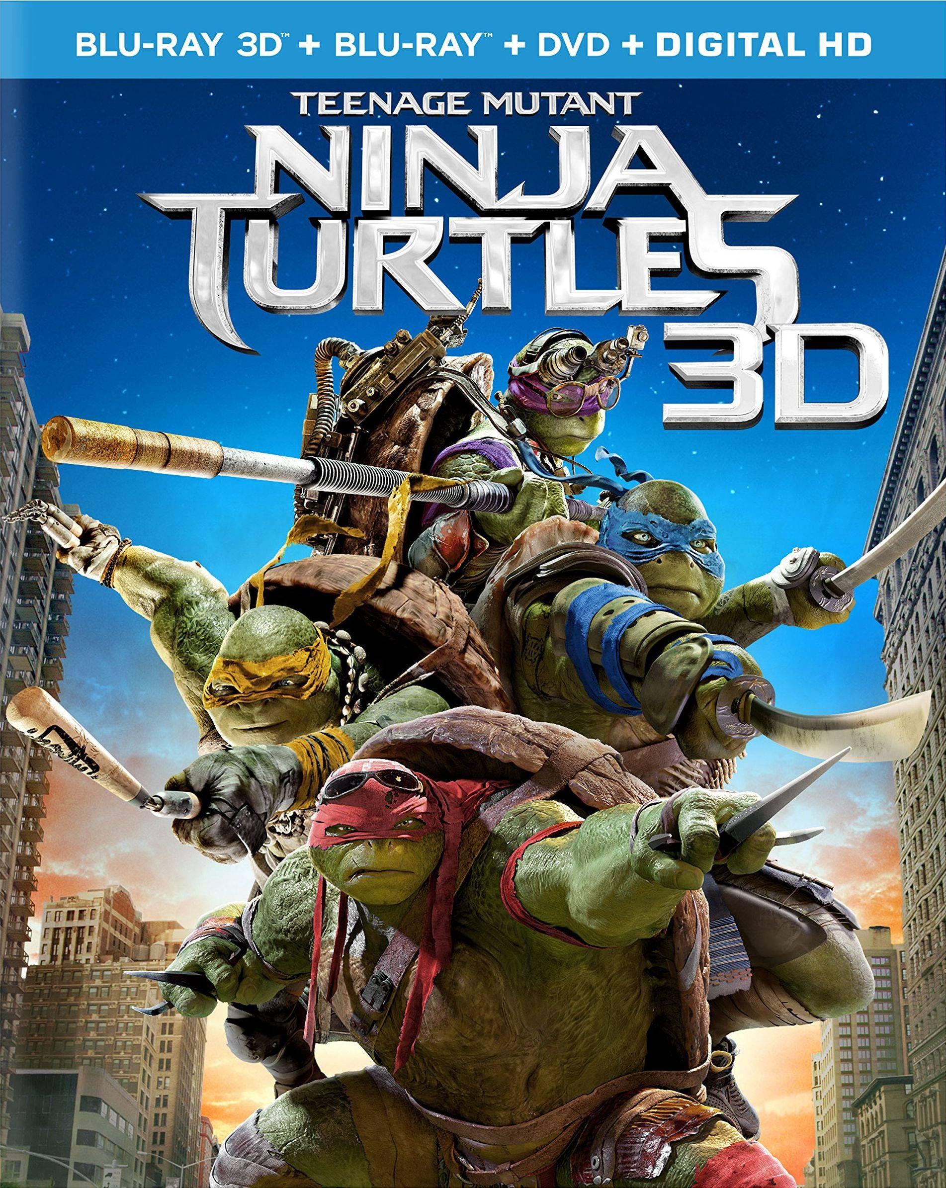 Teenage Mutant Ninja Turtles Blu-ray 3D