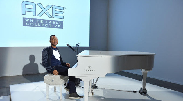 John Legend Teams Up With AXE To Help Aspiring Musicians