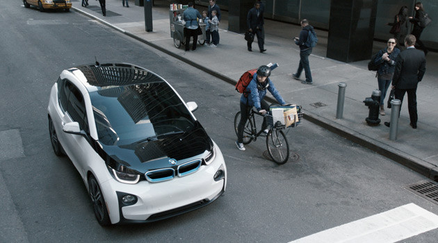 Katie Couric and Bryant Gumbel Star In BMW i3 Super Bowl Commercial
