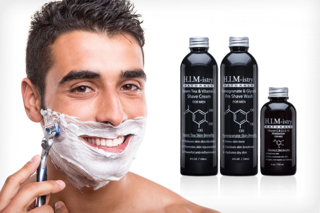 H.I.M-istry anti-aging shave system