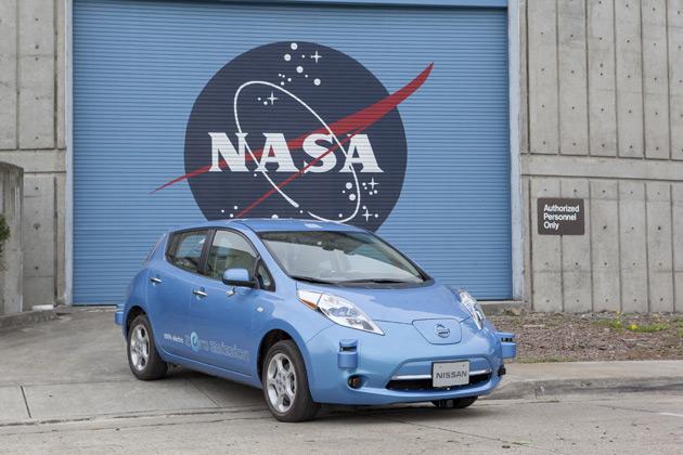 Nissan-NASA-autonomous-vehicle