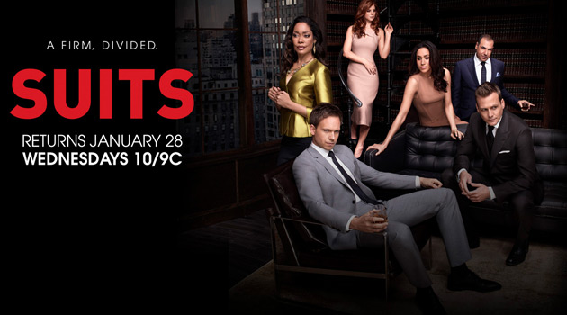Suits returns January 28th