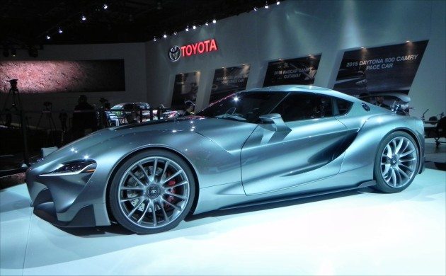 Toyota FT-1 - side 1
